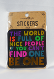 nice people stickers