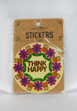 think happy stickers