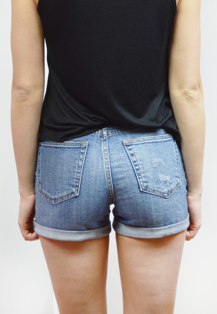 out and about shorts-medium washed