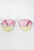 festival series sunnies - pink/yellow