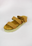 strapped up sandal - camel