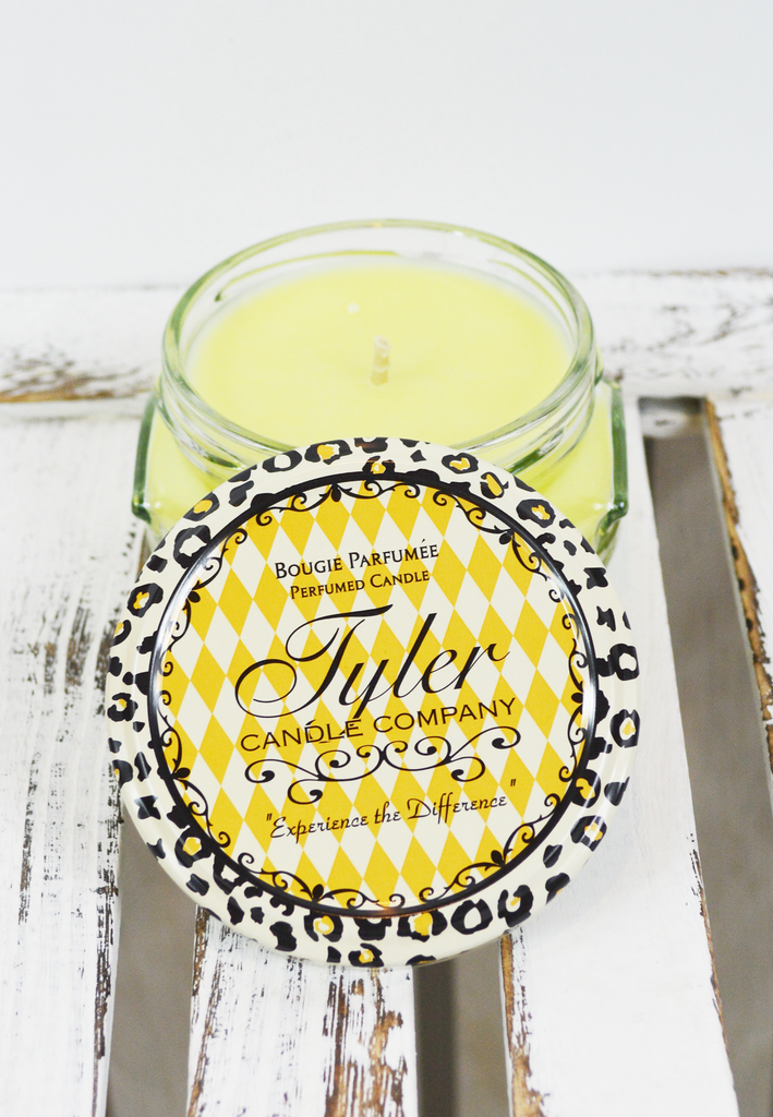 3.4 oz. tyler candle-limelight