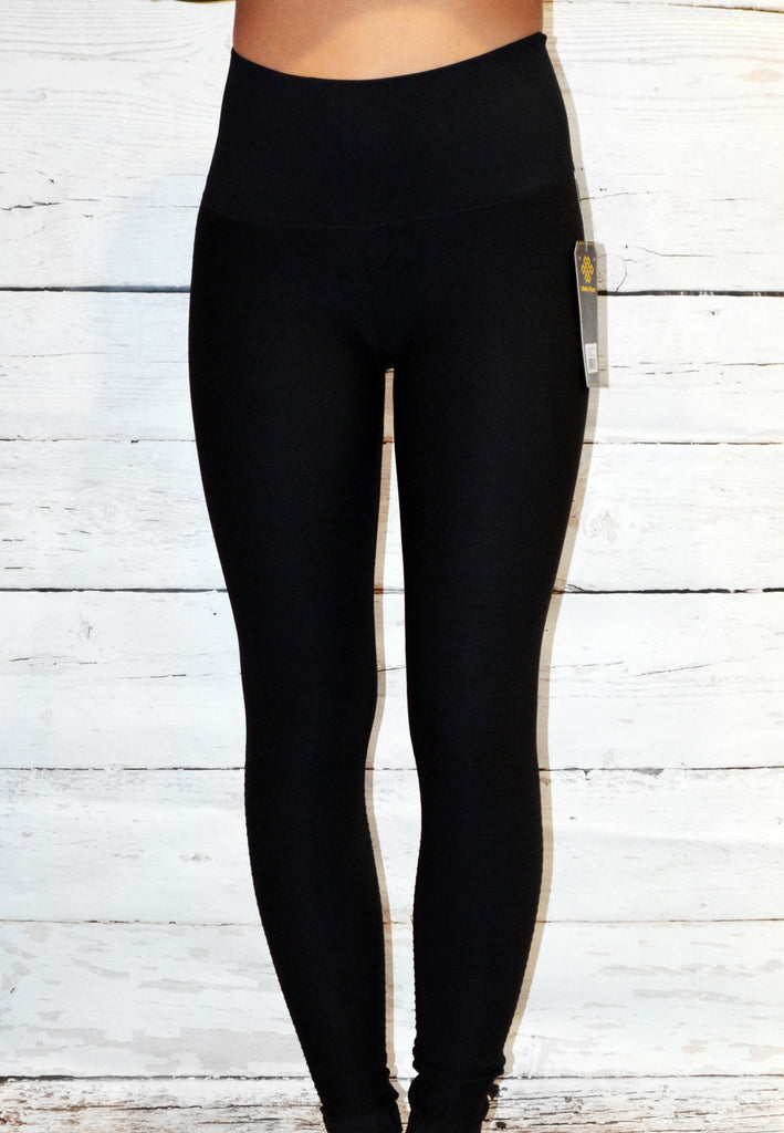 super sculpting leggings - black