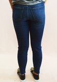 sneak peek cropped jeans - med. wash