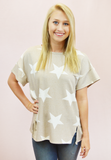 Stars, Stars, and More Stars - Taupe