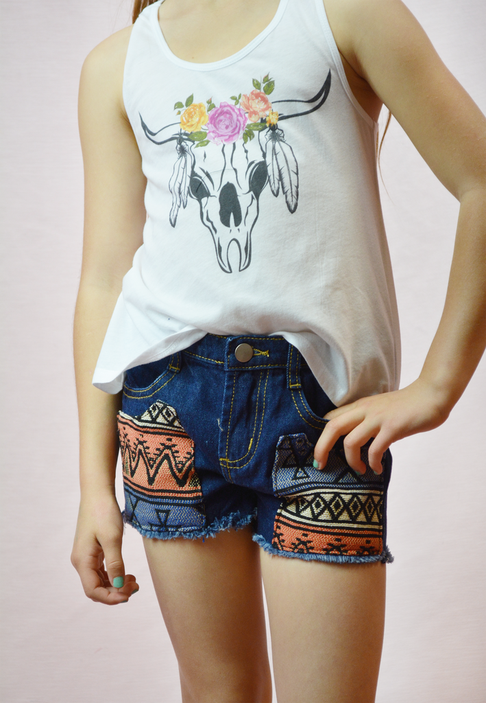lil' belle aztec shorties