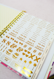Kate Spade Large Planner - Golden Floral