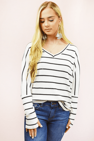 business casual top - cream