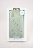 glitter star iphone x phone case