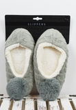 lounge around slippers-grey