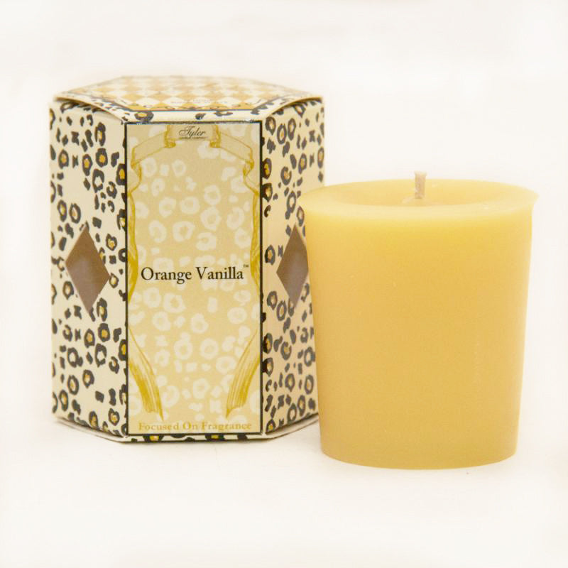 tyler votive candle-orange vanilla