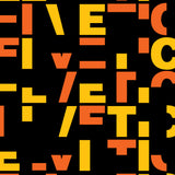 Helveticut - typographic font design poster detail