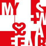 My Swiss Affair - typographic font design poster detail