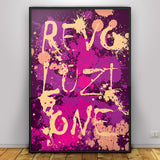 Revoluzione - graphic design poster