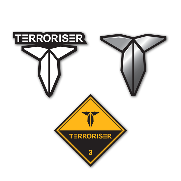 TERRORISER™ Official Sticker Pack