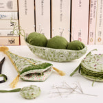 Peas on Earth Pincushion