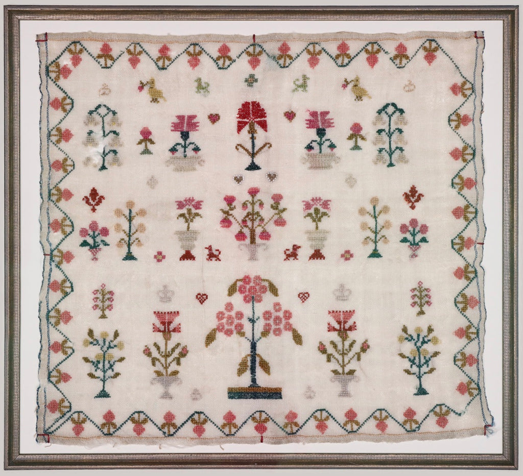 Crowns and Flowers Sampler