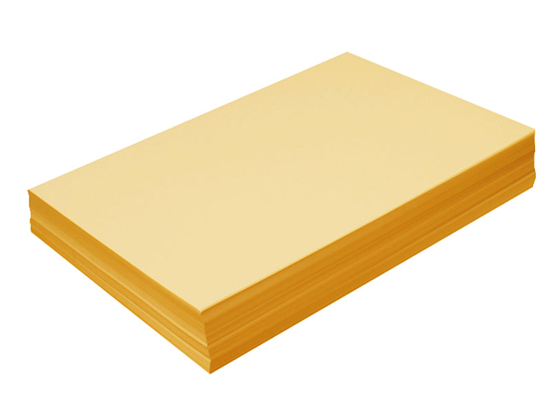 "95 pack - 6.125"" x 11"" Metallic Cardstock 105lb : Metallic 24K Gold"