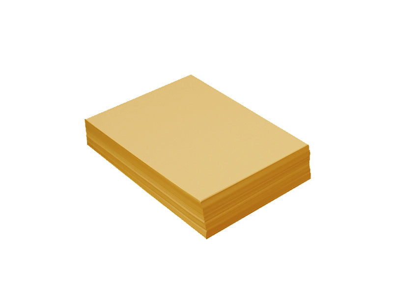 "100 Pack - 4bar Panel Card (3.5""x5""): Metallic 24K Gold"