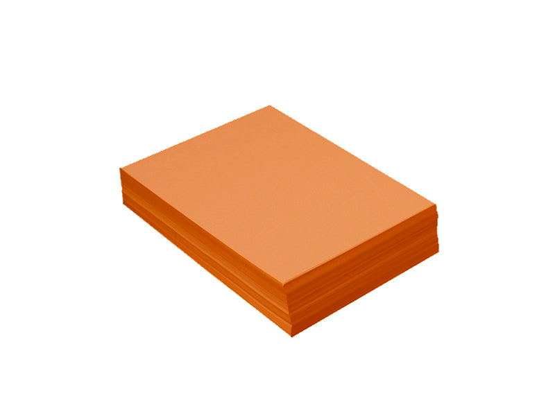 "100 Pack - 4bar Panel Card (3.5""x5""): Metallic Citrus Orange (Flame)"
