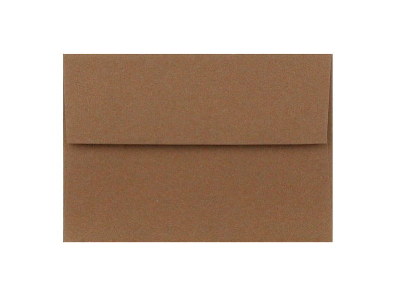 80 Pack - A2 Matte Envelope: Brown