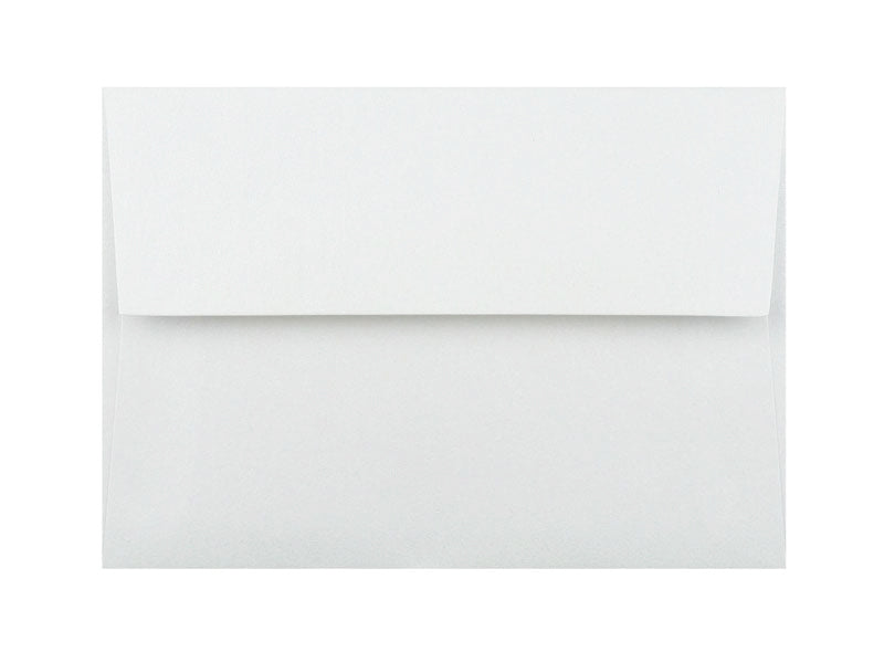 75 Pack: A7 MATTE ENVELOPE 70LB TEXT: BRILLIANT WHITE