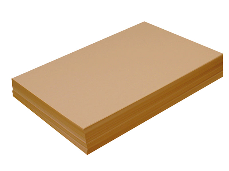 "100 pack - 6.125"" x 11"" Metallic Cardstock 105lb : Metallic Antique Gold"