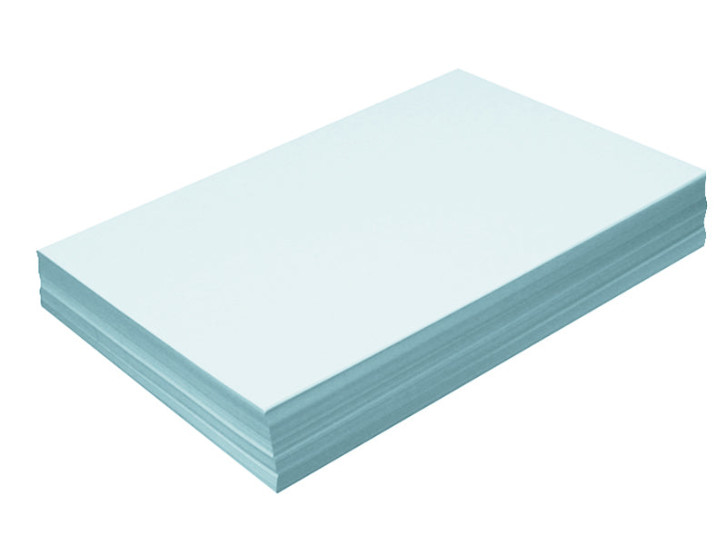 "78 pack - 6.125"" x 11"" Metallic Cardstock 105lb : Metallic Soft Aqua"