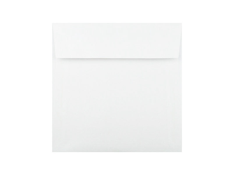 "94 Pack: 6-1/2"" Sq. MATTE SMOOTH ENVELOPE: SOLAR WHITE"