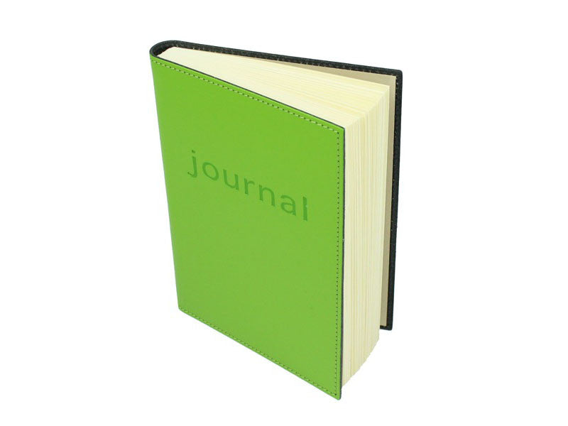Moderno Leather Journal - Lime