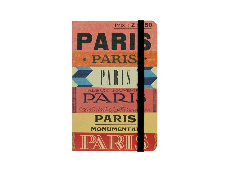 Paris Guide Notebook - Sm