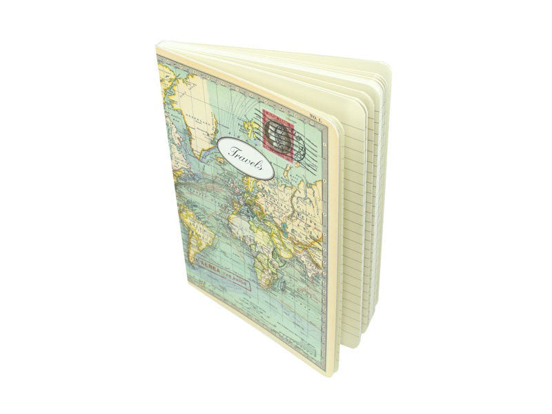 World Map Notebook  - LG