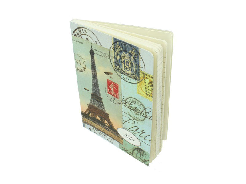 Paris Collage Notebook  - LG