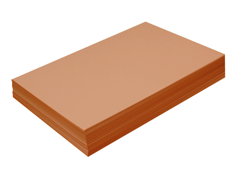 "96 pack - 6.125"" x 11"" Metallic Cardstock 105lb : Metallic Copper"