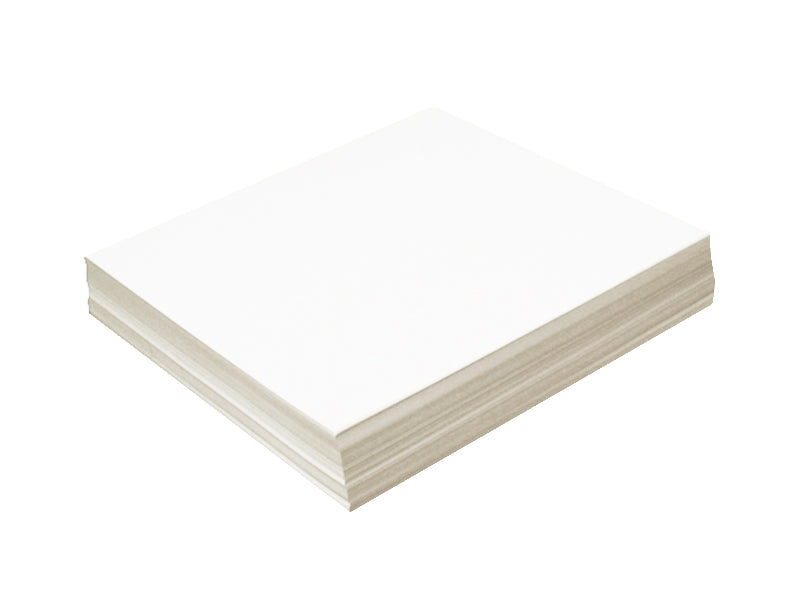 "70 Pack - Metallic Cardstock 7"" x 8"" 105lb: Crystal"