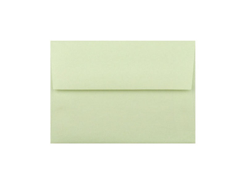 50 Pack - 4 Bar Metallic Envelope: Pear