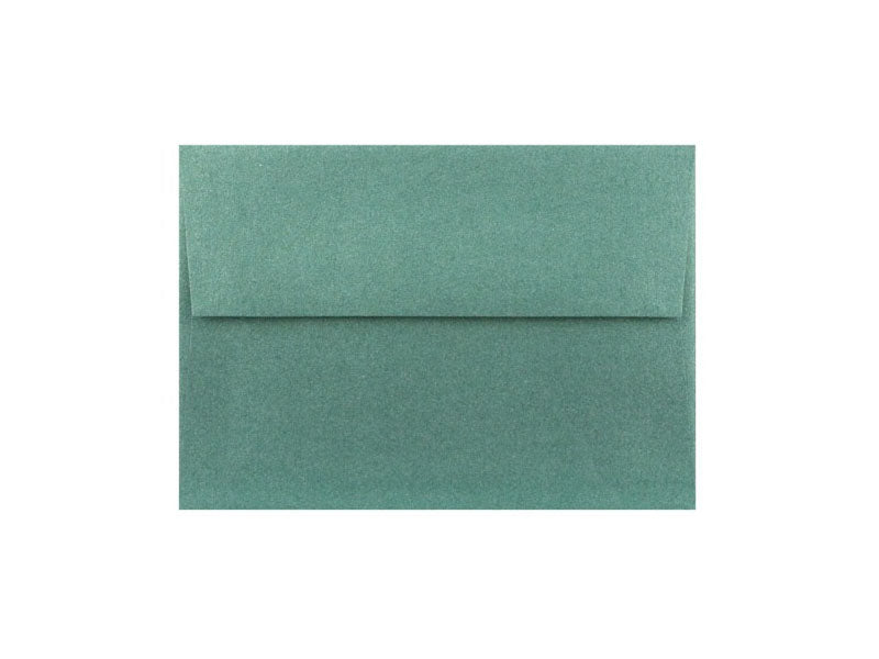 50 Pack - 4 Bar Metallic Envelope: Emerald