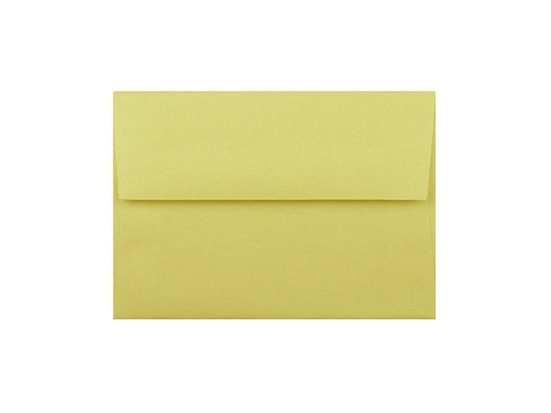 50 Pack - 4 Bar Metallic Envelope: Lime