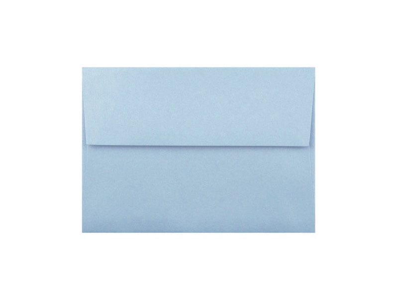 50 Pack - 4 Bar Metallic Envelope: Bluebell