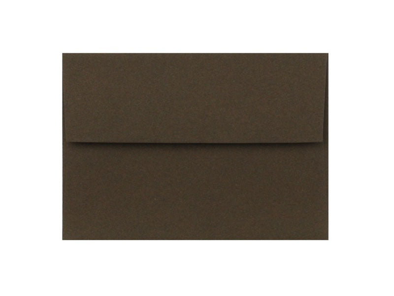 100 PACK - A2 MATTE ENVELOPE: CHOCOLATE