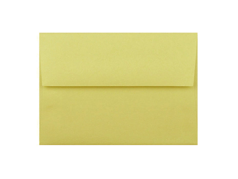 50 Pack - A2 Metallic Envelope: Lime