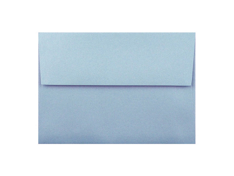 50 Pack - A2 Metallic Envelope: Bluebell