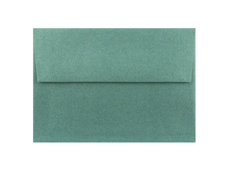 50 Pack - A6 Metallic Envelope: Emerald