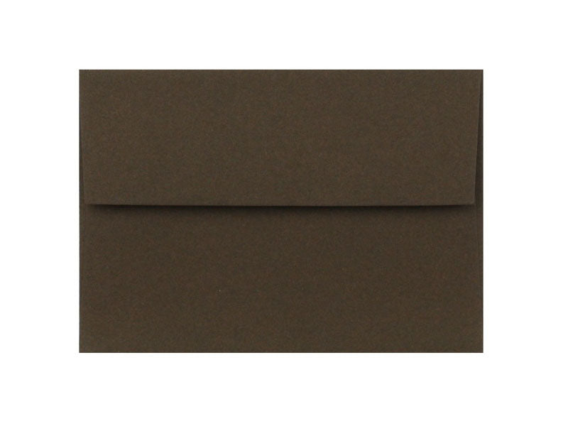 100 PACK - A6 MATTE ENVELOPE: CHOCOLATE