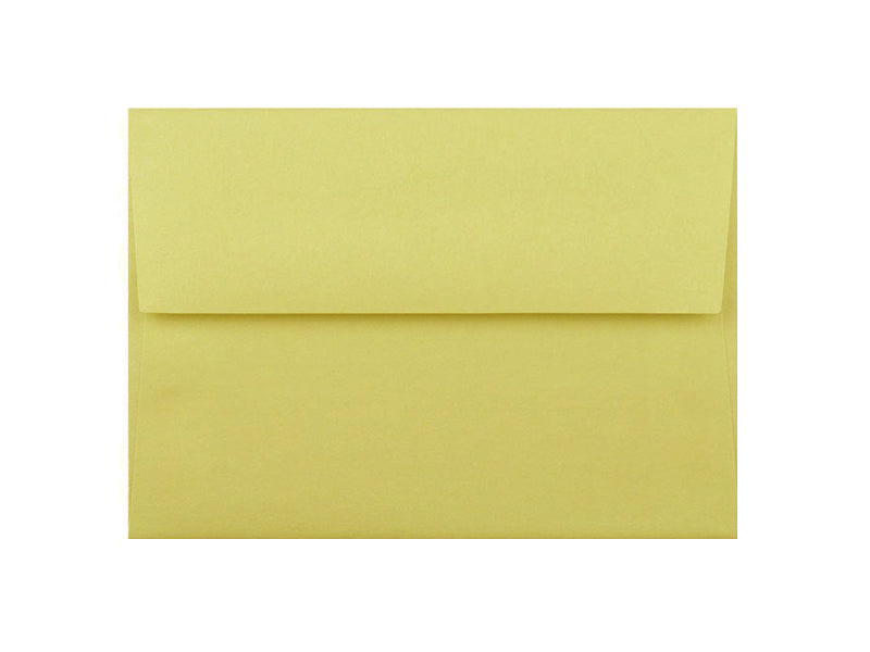 50 Pack - A6 Metallic Envelope: Lime