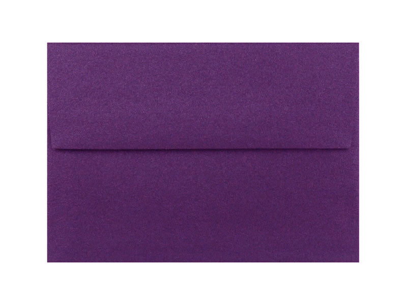 50 Pack - A7 Metallic Envelope: Grape
