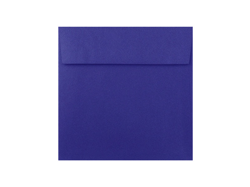 "50 Pack - 6-1/2"" Sq. Metallic Envelope: Blueprint"