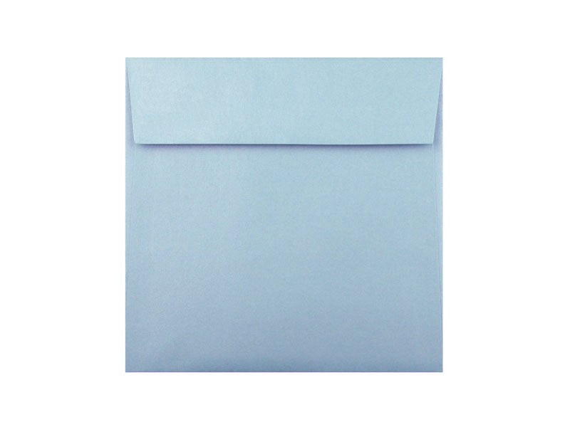 "50 Pack - 6-1/2"" Sq. Metallic Envelope: Bluebell"