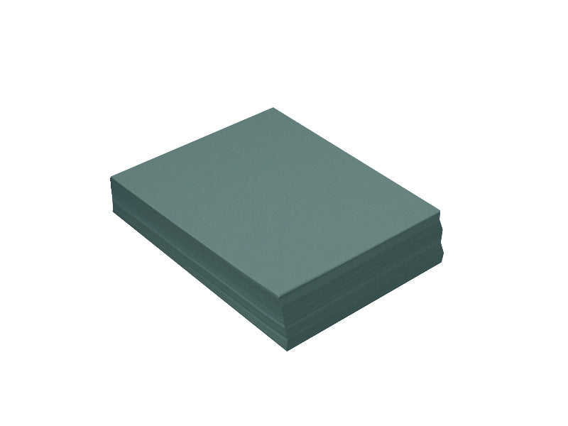 "100 Pack - 4bar Panel Card (3.5""x5""): Metallic Emerald"