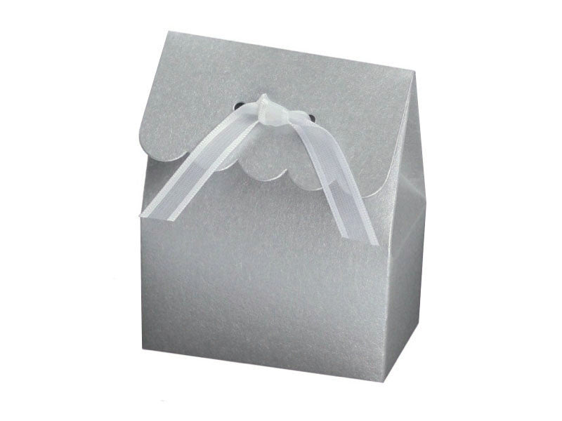 SCALLOP FLAP FAVOR BOX